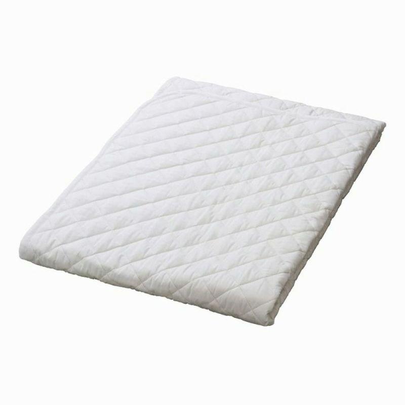[スヤラボ]綿ベッドパッド(SU3919)/クイーン ホワイト