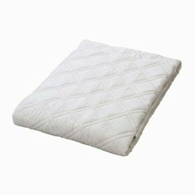[スヤラボ]ウールベッドパッド(SU3920)/ダブル ホワイト