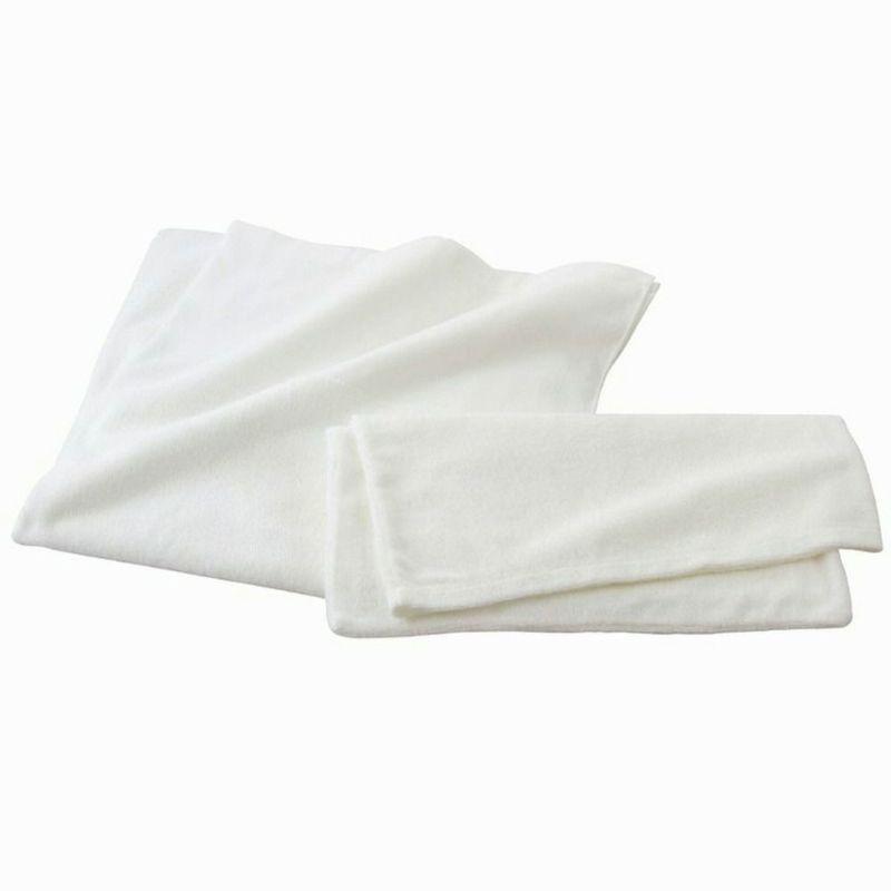 [ イヤシヤ]今治枕布/ピロケース/封筒式 ホワイト