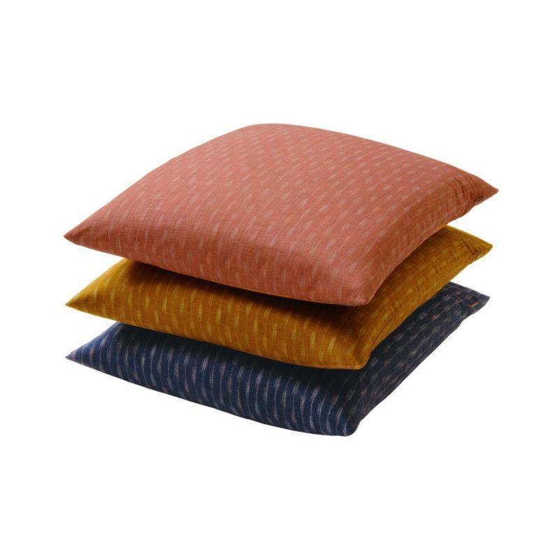 座ぶとんカバー IY0873 【銘仙判】55×59cm ピンク・ブルー