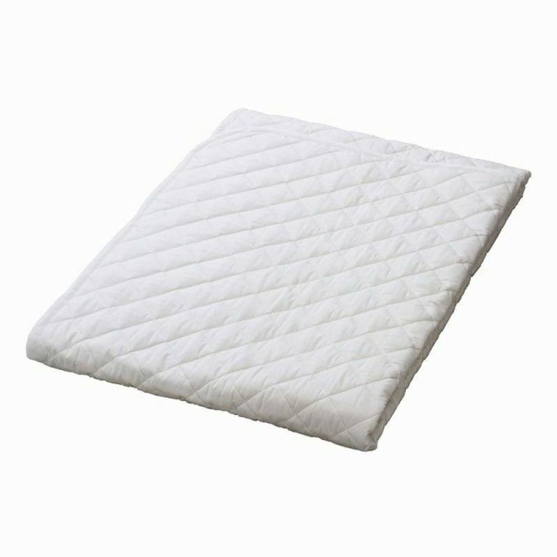 [スヤラボ]綿ベッドパッド(SU3919)/ダブル ホワイト