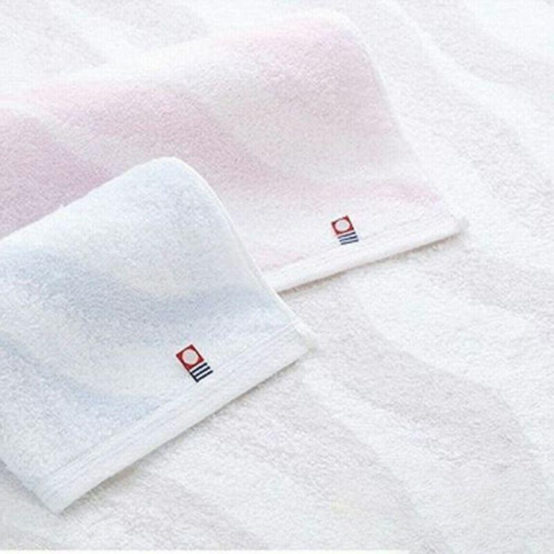 JAPAN MEIFU imabari[海]ウォッシュタオル3枚セット(ピンク・ブルー・グレイ) ピンク・ブルー