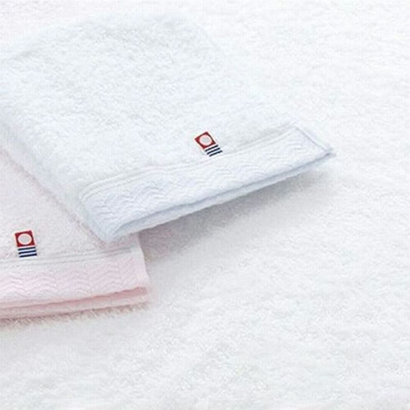 JAPAN MEIFU imabari[優]バスタオル ピンク・ブルー