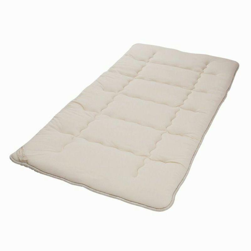 ウール敷きパッド 2.4kg/GQ5003 セミダブル120×200㎝ ベージュ