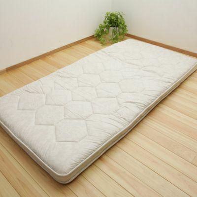 プレミアムバランス4層敷き布団 4.6kg/GQ5005 シングルロング100×210㎝ ベージュ