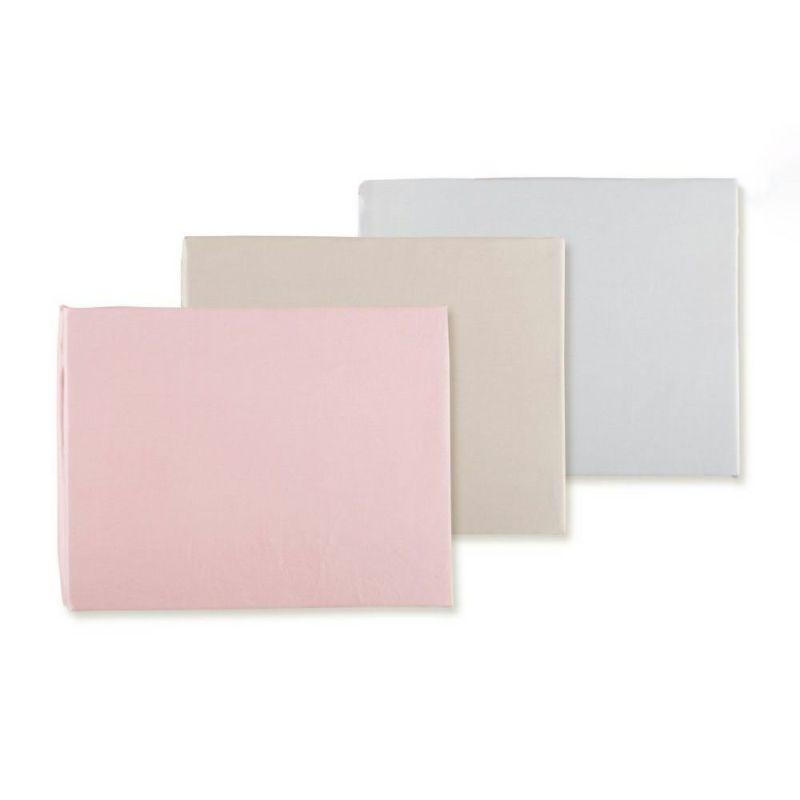 [マテリオーネ][送料無料]ボックスシーツ/コンフォルト(セミダブル)120×200×40cm ピンク・ブラウン・グレー