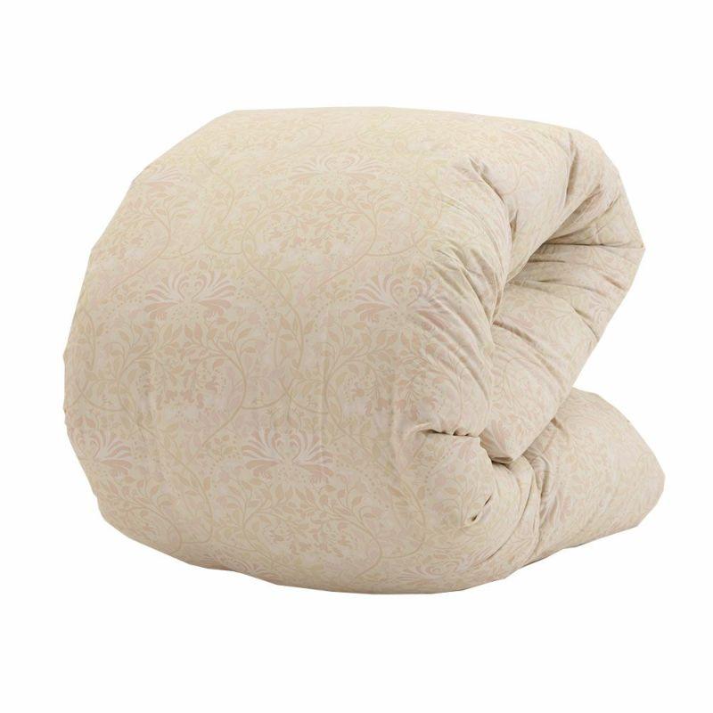 [昭和西川の福袋]羽毛布団 ポーランド産ホワイトマザーグースダウン93% 1.2kgシングル