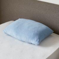 ムアツ枕対応 ストレッチ綿パイルピロケース(約51×33×6cm) ピンク・ブルー