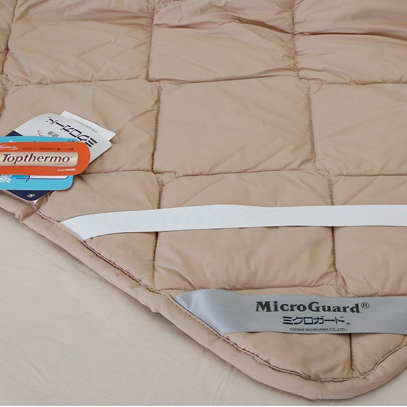 [ミクロガード][送料無料](数量限定)トップサーモ発熱敷きパッド ダブル