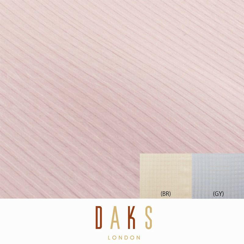 DAKS ボックスシーツ/ベーシックチェック ベッドシングル