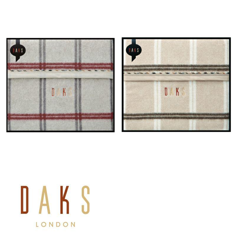 DAKS ウール毛布(毛羽部分)/D4615