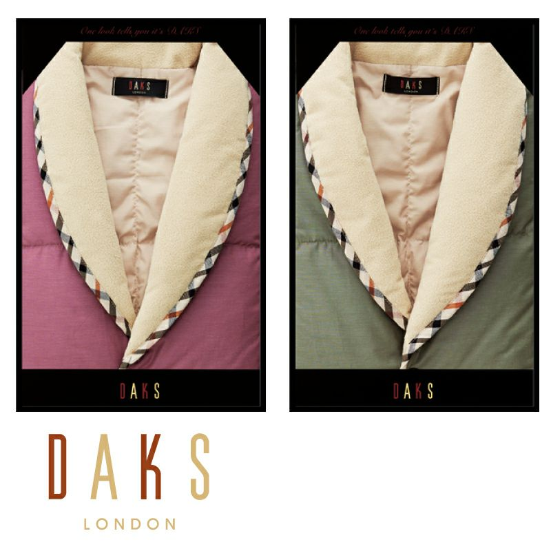 DAKS 羽毛ポンチョ/D85112V