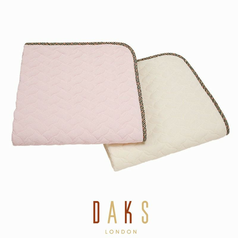 DAKS 綿シンカーパイルパッドシーツ/ベーシックカラー セミダブル