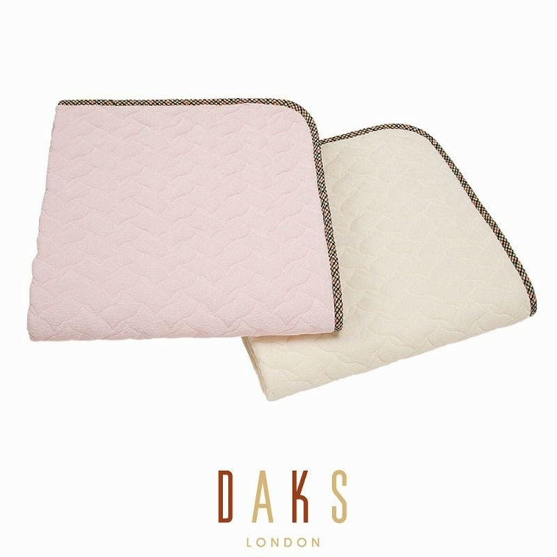 DAKS 綿シンカーパイルパッドシーツ/ベーシックカラー ダブル