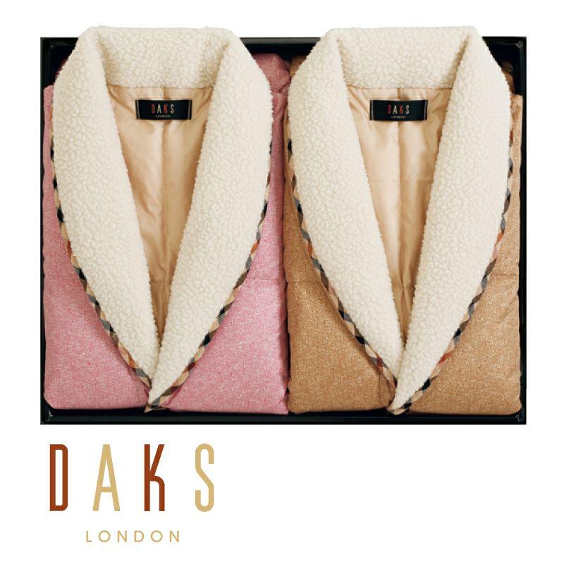 DAKS 羽毛ポンチョセット/D87110V-MIX