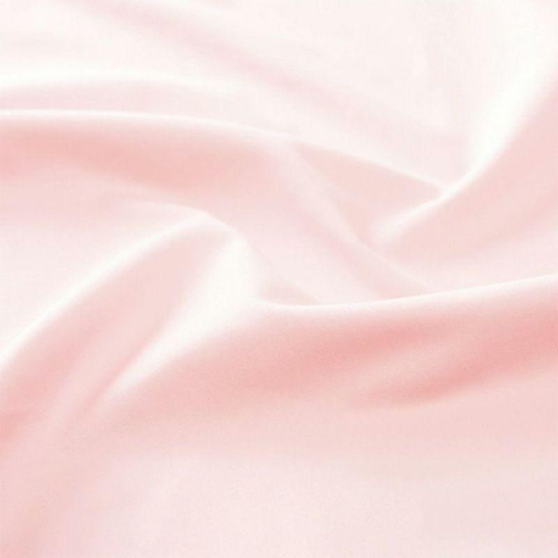 ムアツシーツ マットレスパッド用 サテン(ダブル) ピンク・ブルー