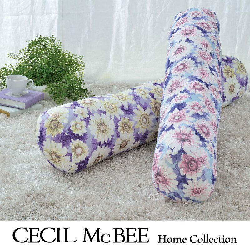 CECIL McBEE 抱き枕 マーガレット ブルー・パープル