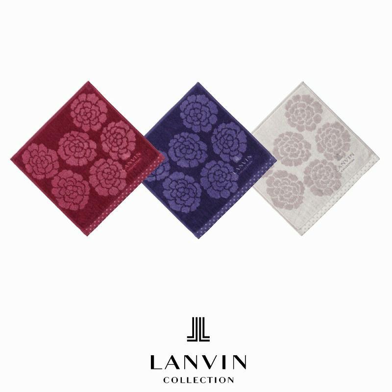 [LANVIN] プチタオル/レヨン 25×25cm