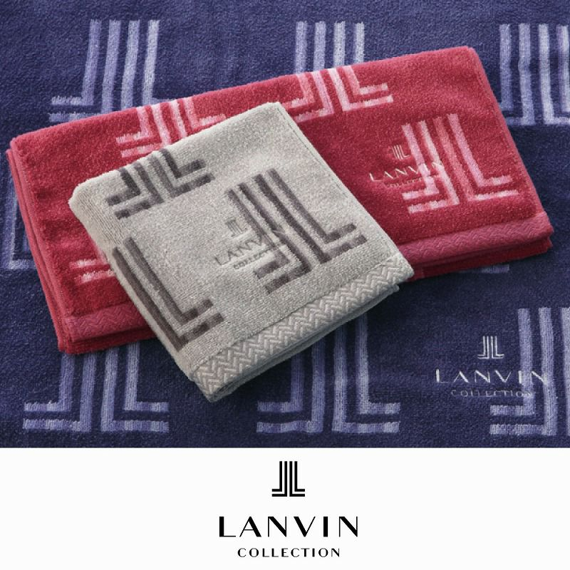 [LANVIN] バスタオル/オロル 60×125cm