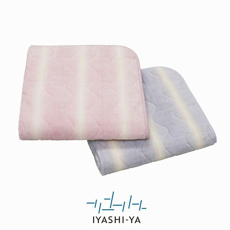 [IYASHI-YA] 洗えるシール織ウール混パッドシーツ/IY-1952 シングル 100×205cm