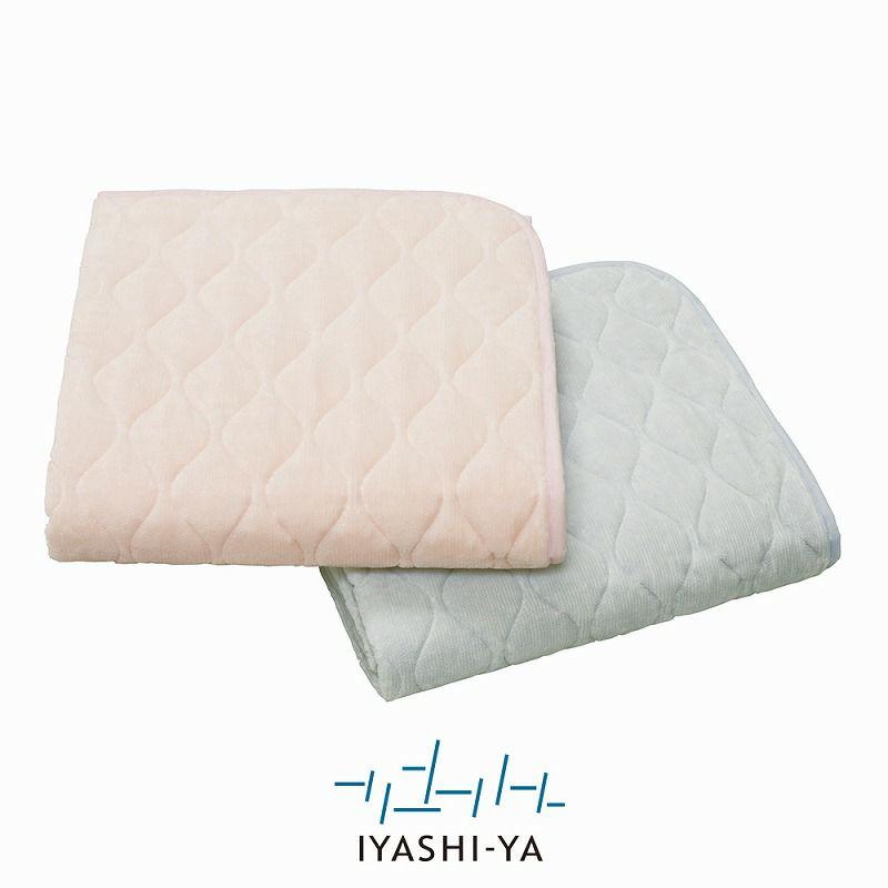 [IYASHI-YA] 洗えるウールわたパッドシーツ/IY-1953 セミダブル 120×205cm