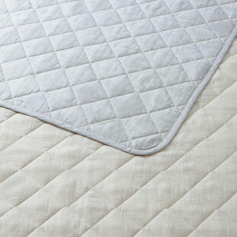 [IYASHI-YA] 洗えるウールマイヤーパッドシーツ/IY-1954 セミダブル 120×205cm
