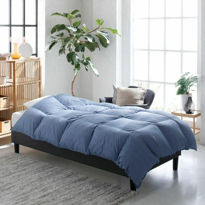羽毛掛け布団 ホワイトダックダウン85% 1.2㎏/EC92001(シングル)150×210cm ピンク・ブルー
