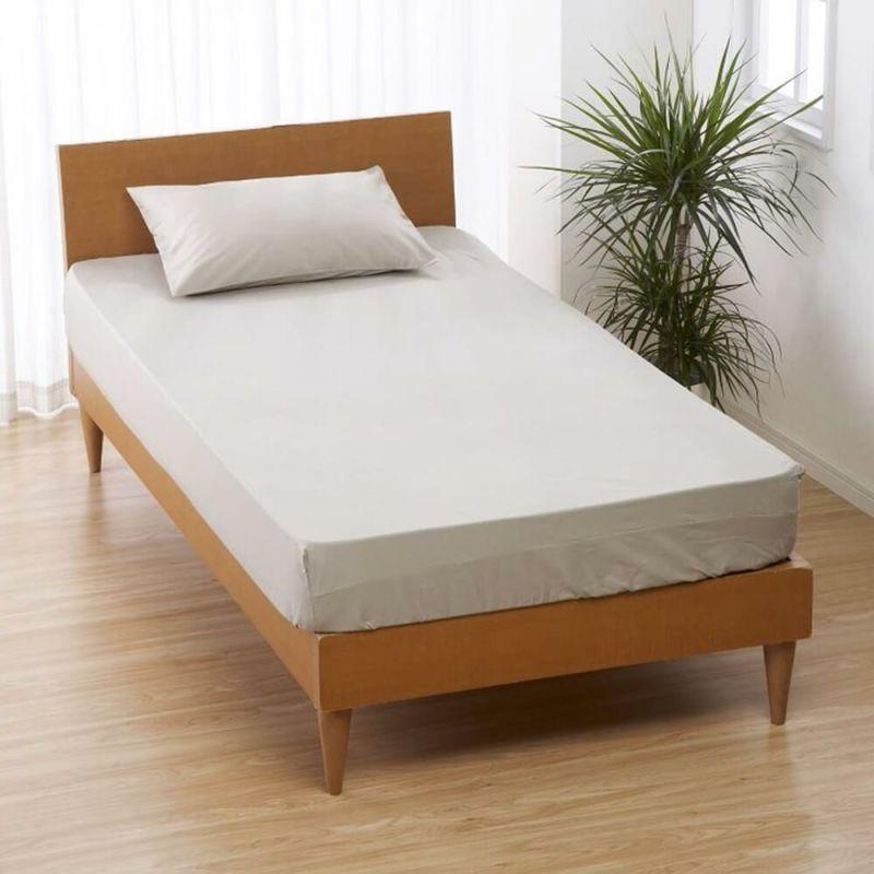 [CUORE] BOXシーツ/ベーシックカラー シングル 100×200×30cm