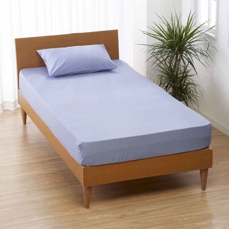 [CUORE] BOXシーツ/ベーシックカラー セミダブル 120×200×30cm