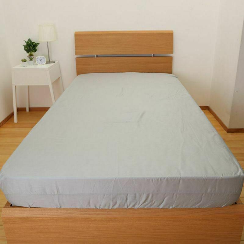 【2枚セット】[CUORE] BOXシーツ/ベーシックカラー セミダブル