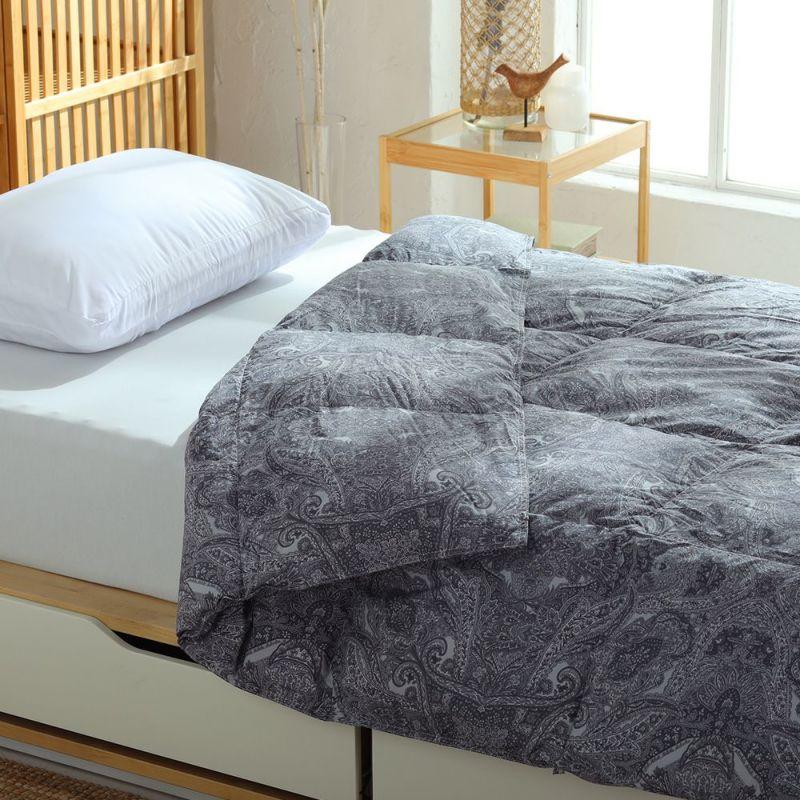 【2枚セット特価】羽毛肌掛けふとん 日本製ドイツ産ダックダウン93%